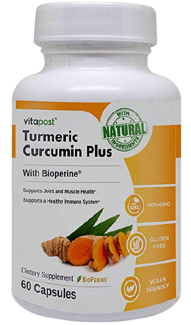 Turmeric + Bioperine supplement