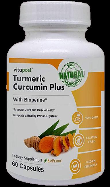 Turmeric + Bioperine supplement
