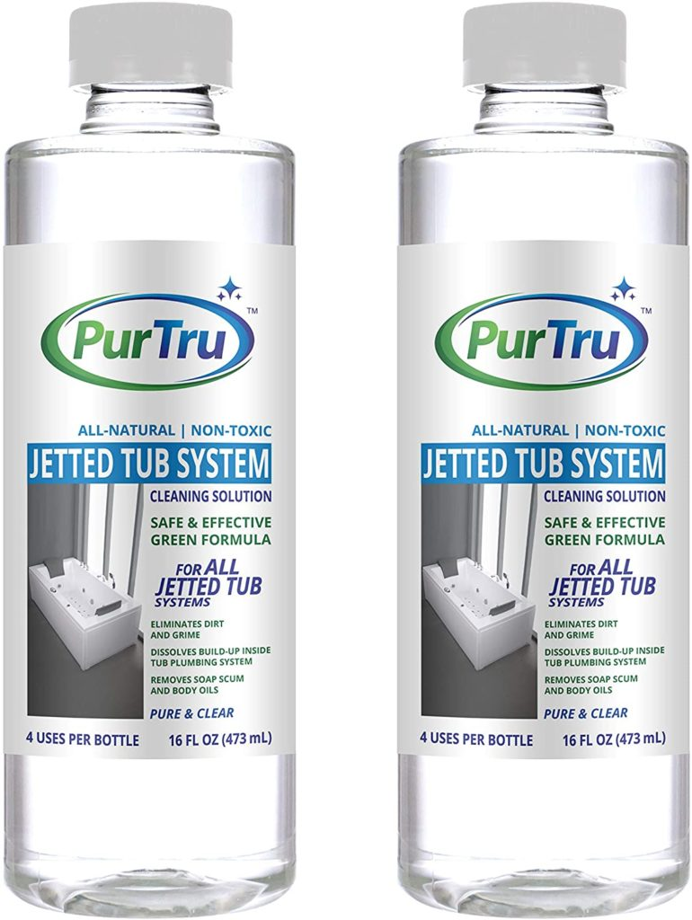 Jetted Tub and Plumbing System Cleaning Solution