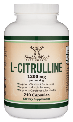 L-Citrulline blood circulation supplement