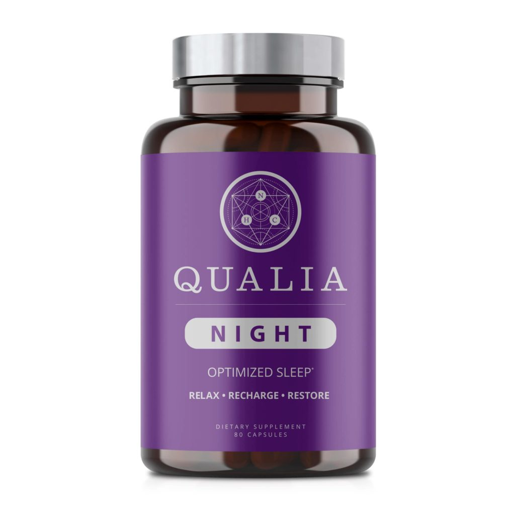 Qualia Night nootropic sleep formula for deep sleep