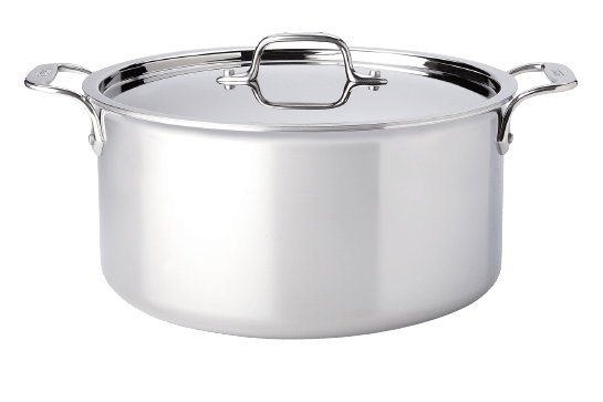 Stainless Clad Stock Pot